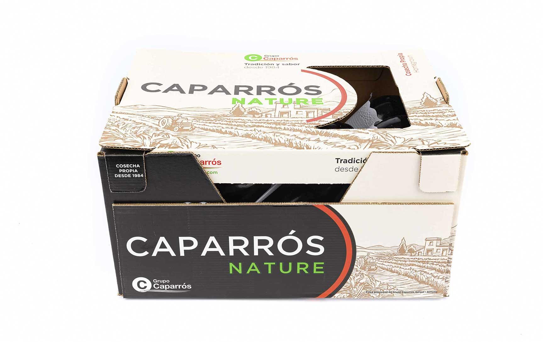 Berenjena negra - Caparrós