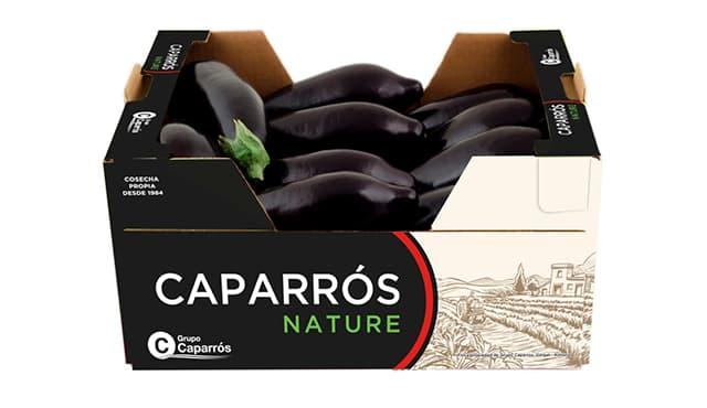 Packaging berenjena - Caparrós
