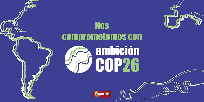 Desde Caparrós nos volvemos a comprometer con la COP26