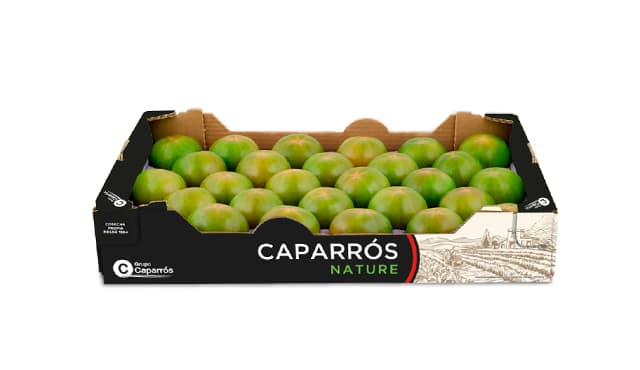 Packaging tomate verde ensalada- Caparrós