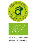 Certificado agricultura ecológica - Caparrós