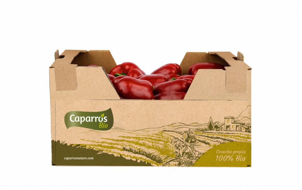 Packaging pimiento california - Caparrós