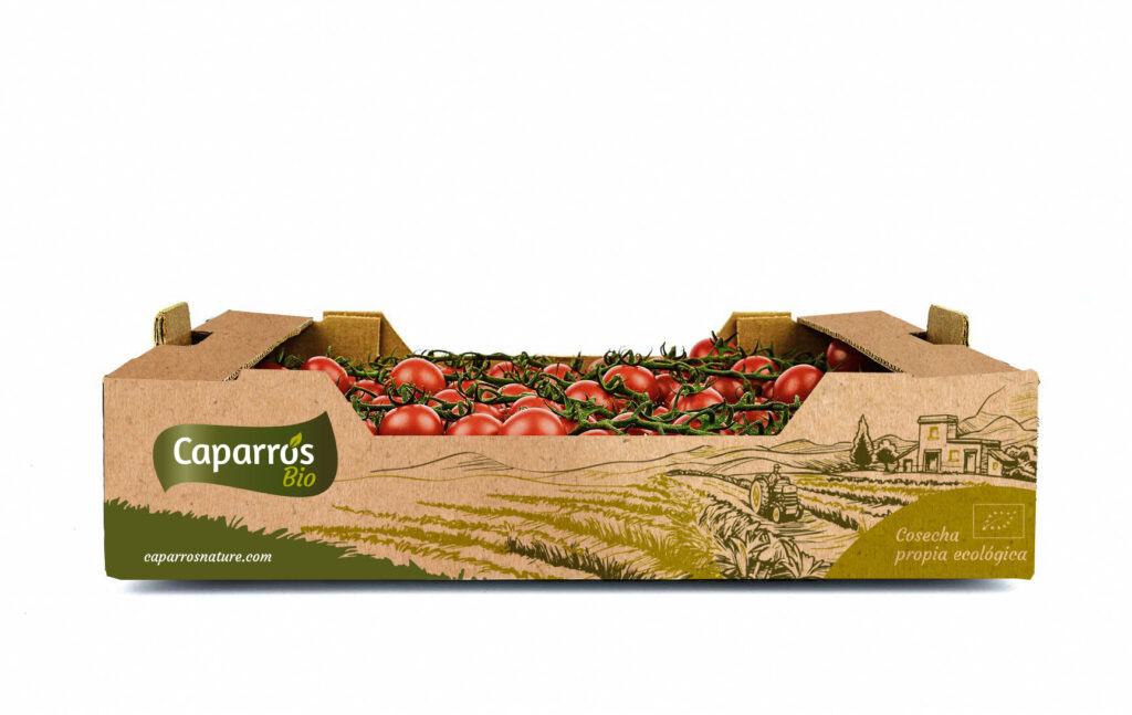 Packaging tomate cherry rama - Caparrós