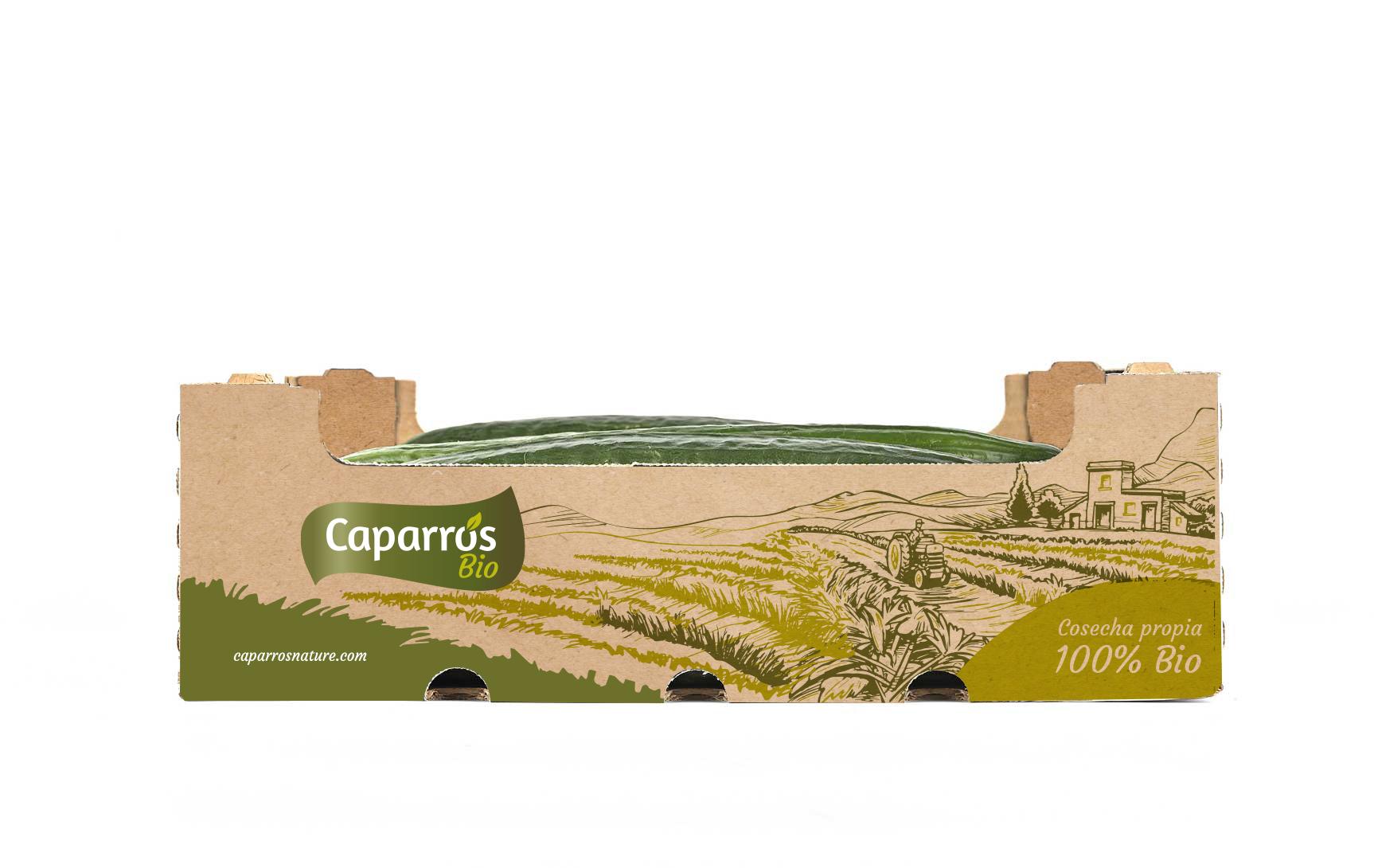 Packaging pepino bio- Caparrós