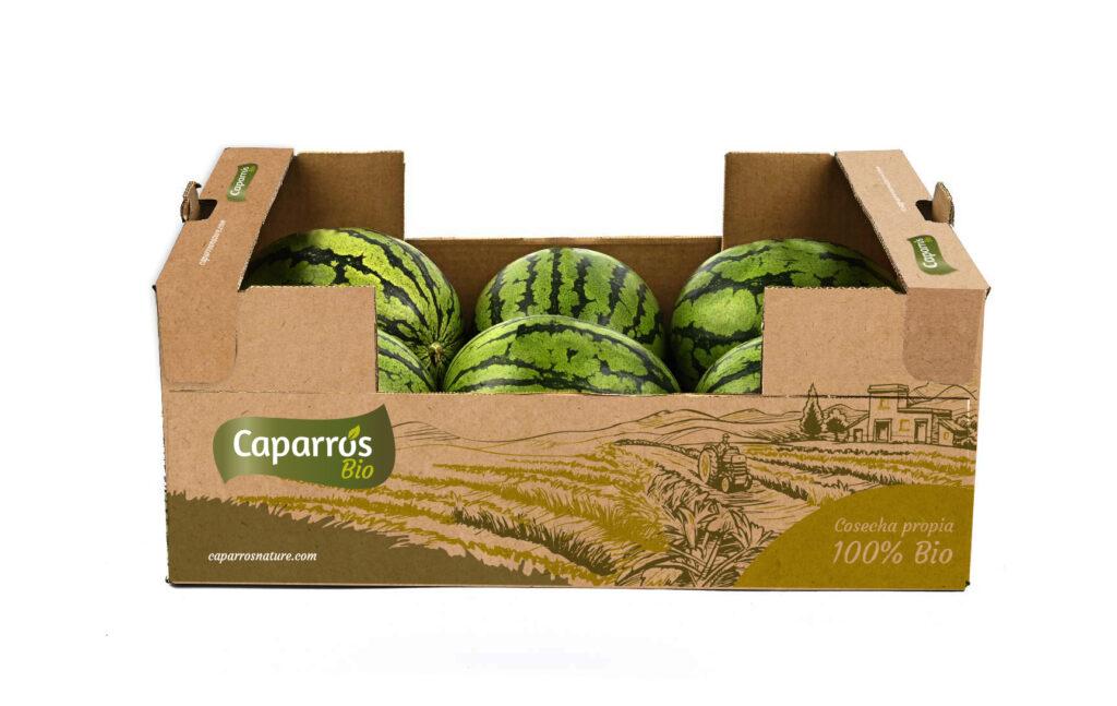 Packaging sandia mini ecológica - Caparrós