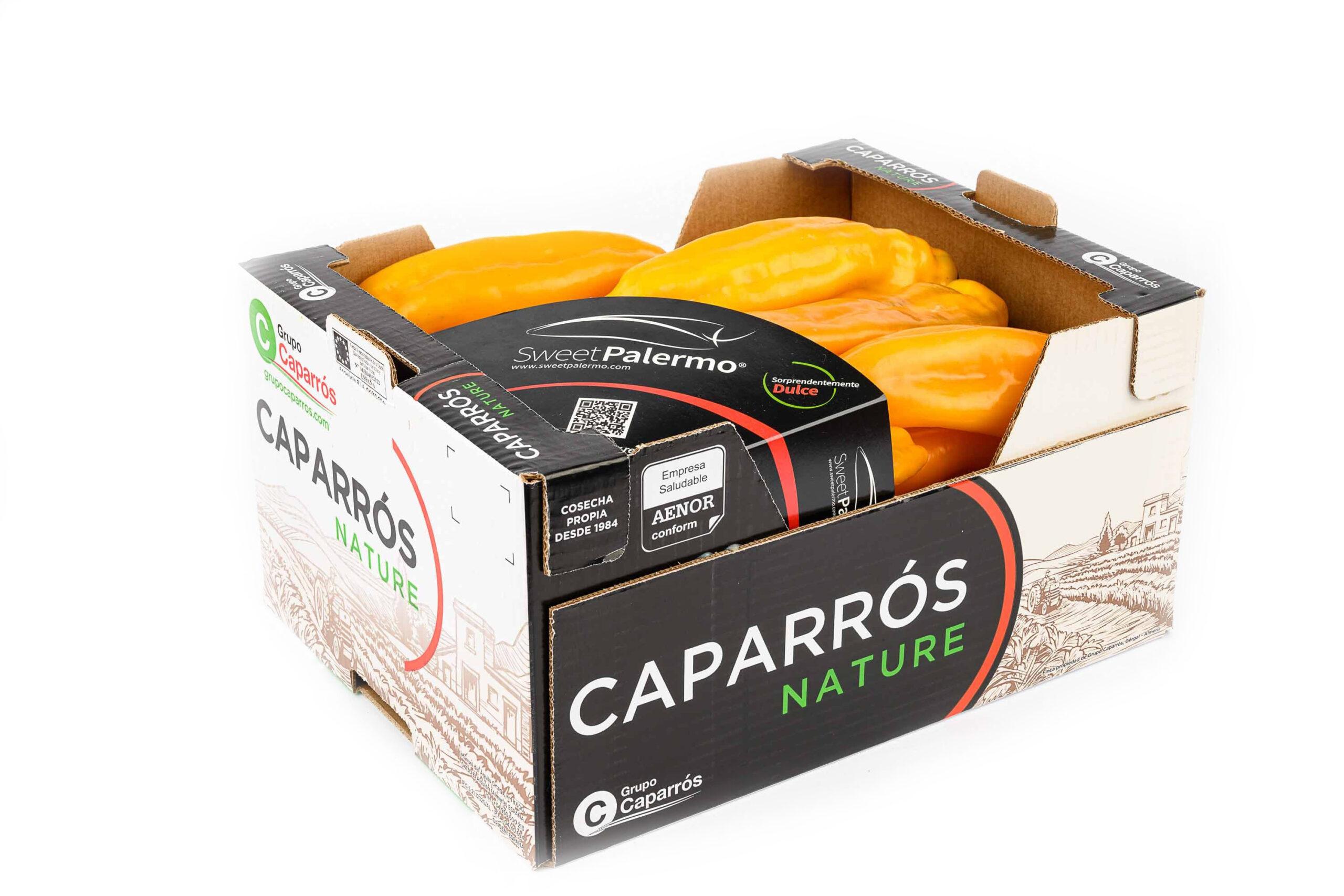 packaging pimiento palermo-Caparrós